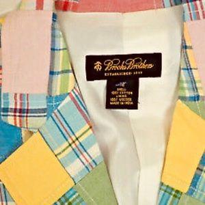 Brooks Brothers timeless pastel plaid blazer